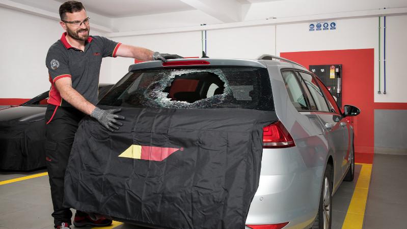 car repair window